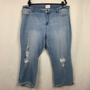 Celebrity Pink Ankle Straight Jeans Size 20 NWOT
